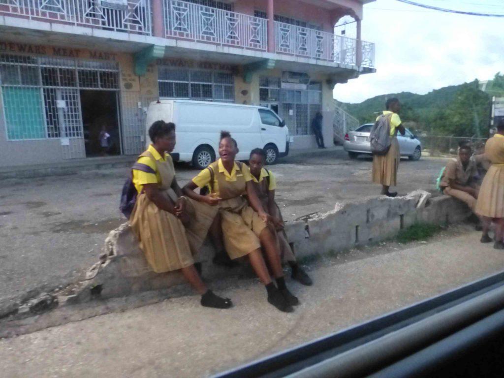 Школьники Ямайки