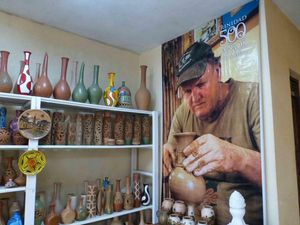 Фото скульптора в мастерской