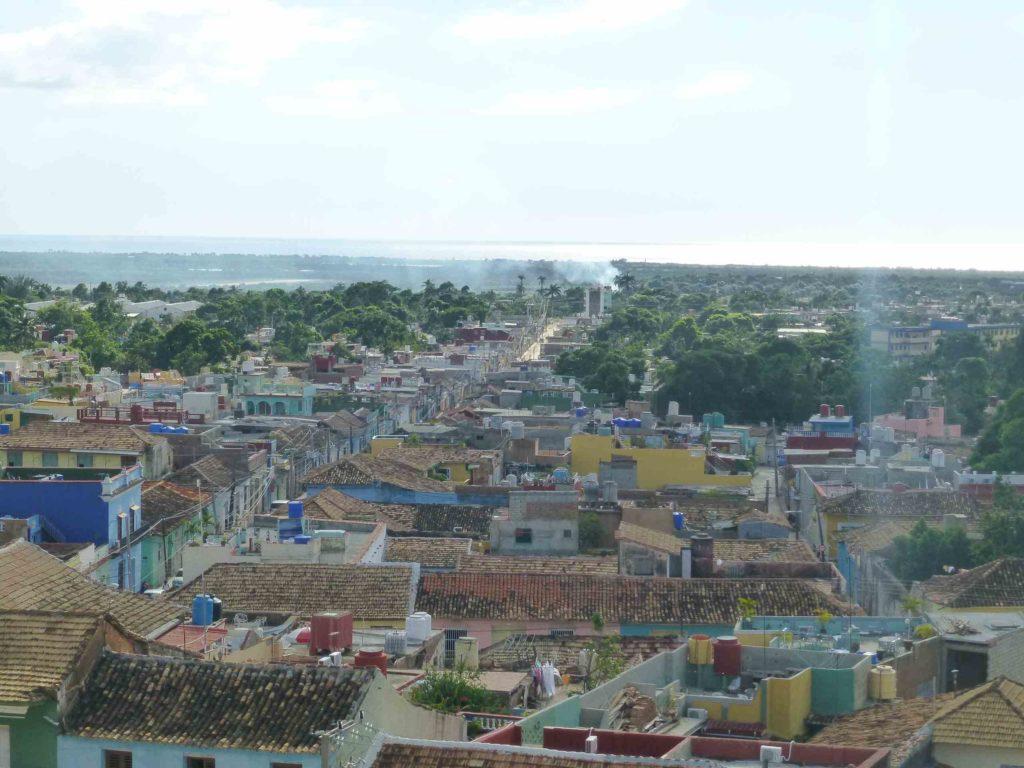 Вид с крыши на море