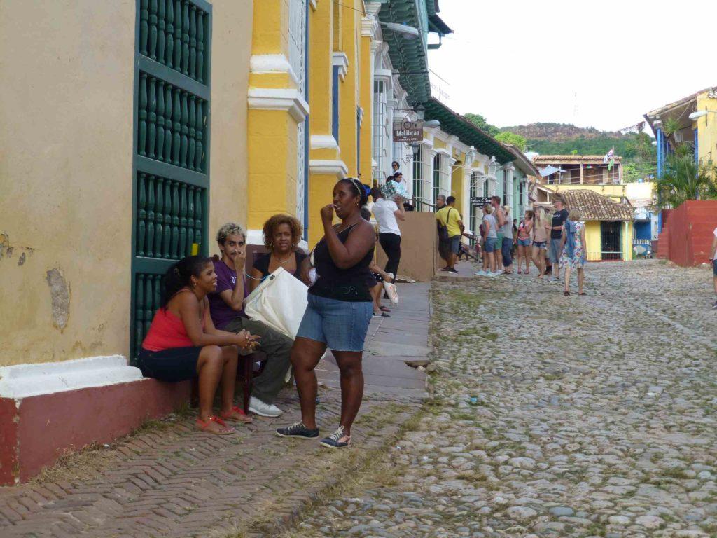 На улицах Тринидада