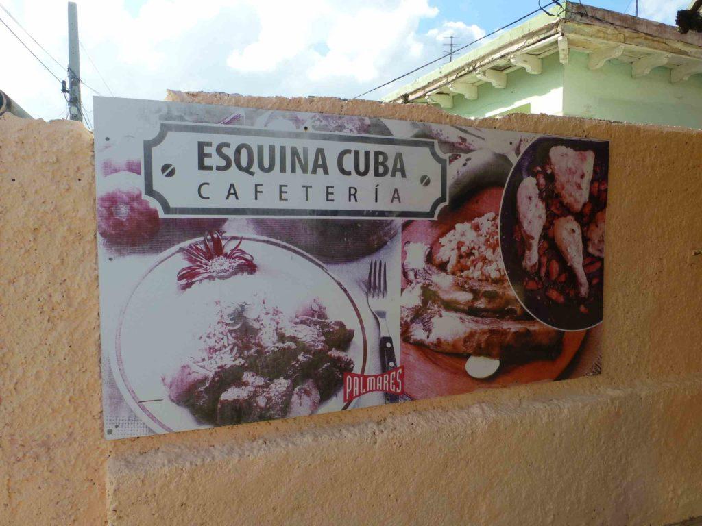 """Вывеска кафе """"Esquina"""" на 36-й улице"""