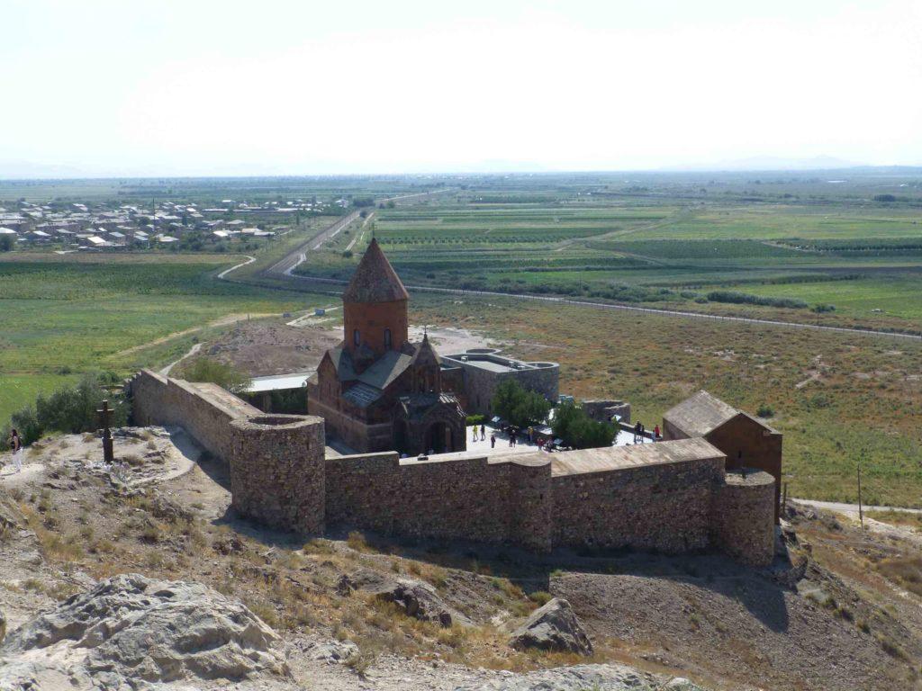 Монастырь сверху