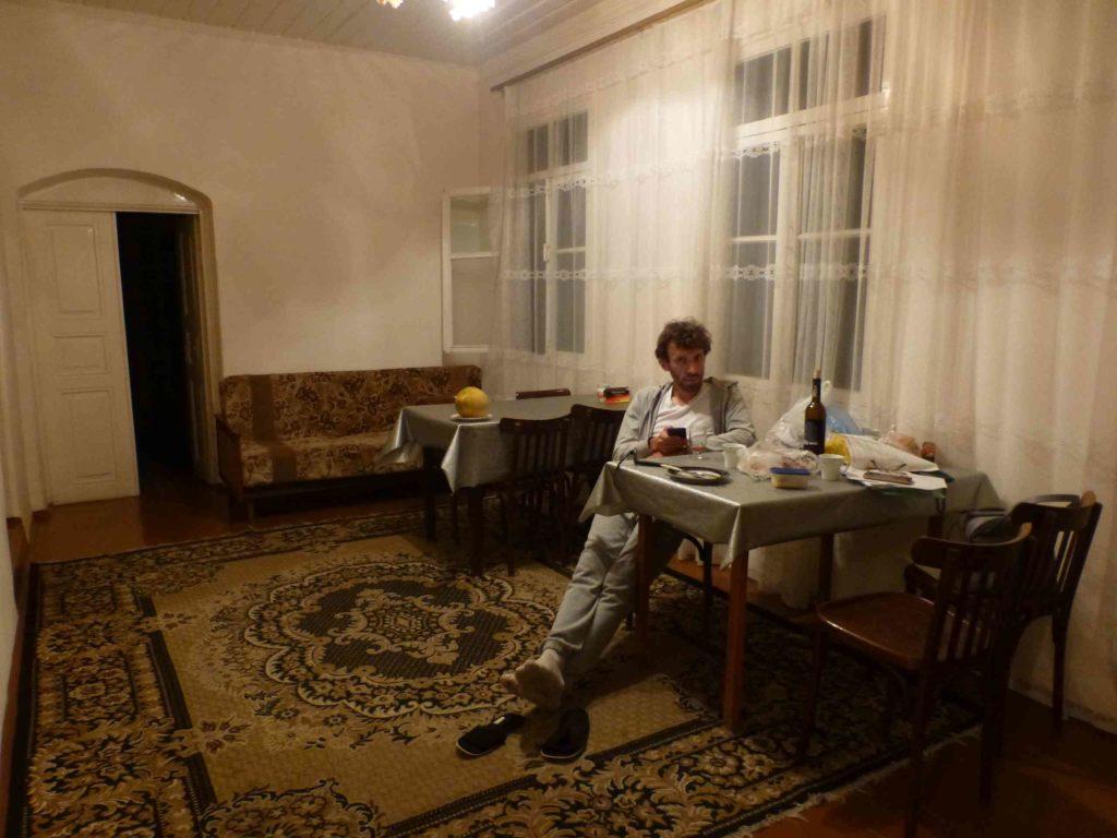 Зал в гостевом доме