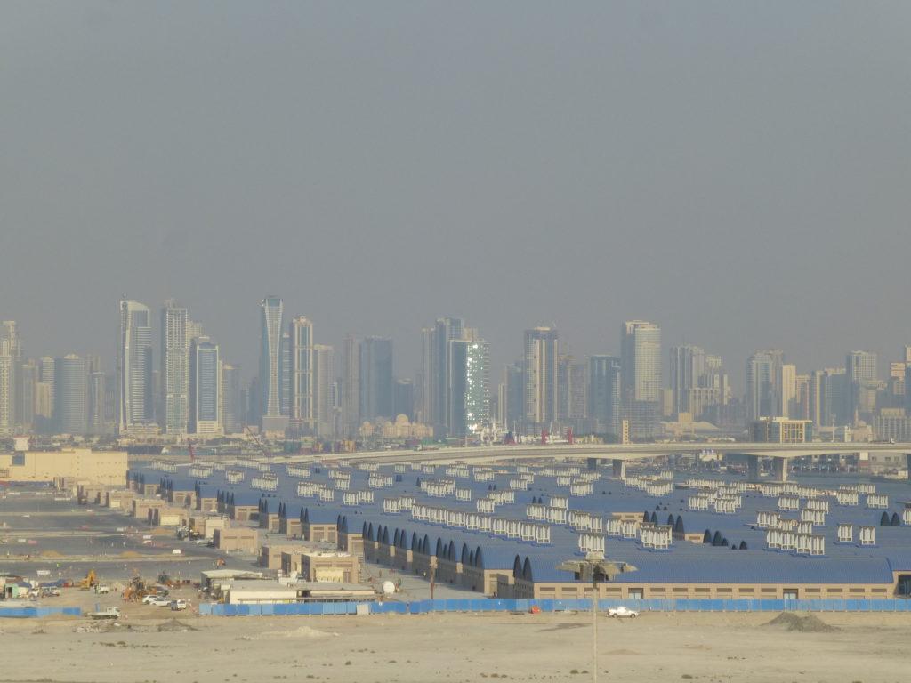 Дубай с палубы корабля