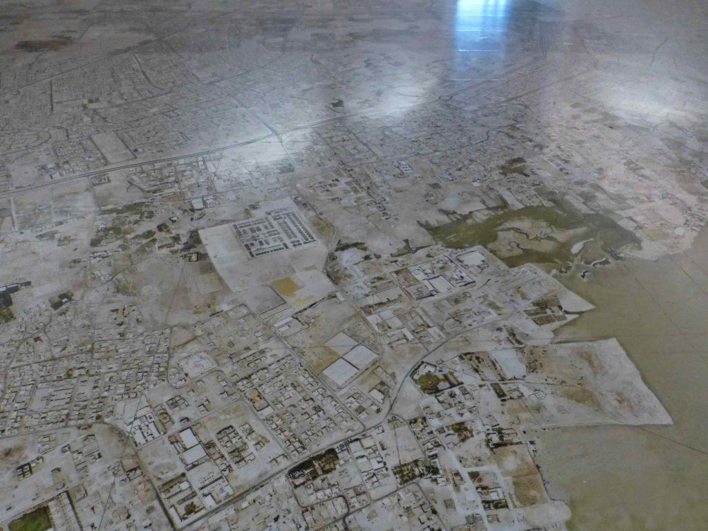 Карта на полу