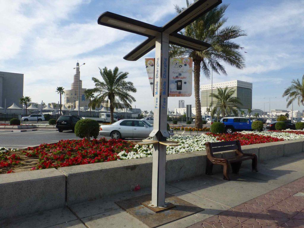 Набережная. Спиральное здание - Центр ислама, справа от него рынок Вакиф.