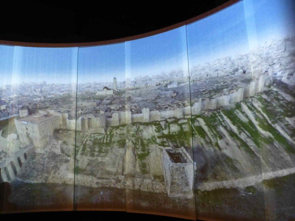 Вид на крепость Алеппо