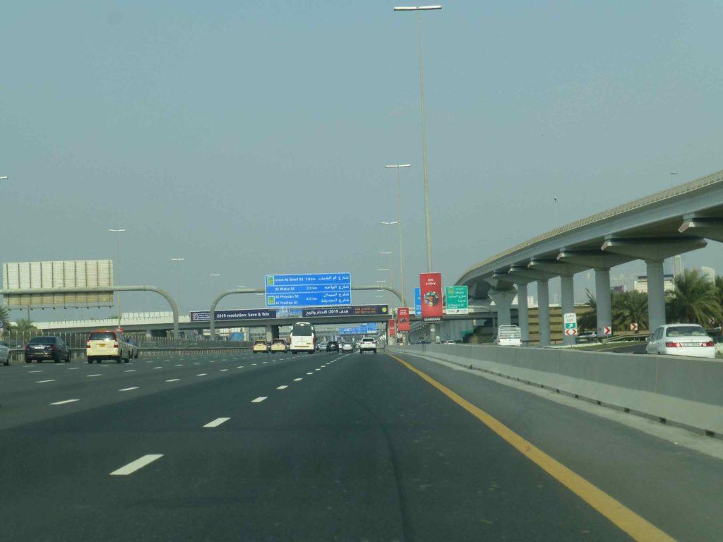 Дороги в Дубае