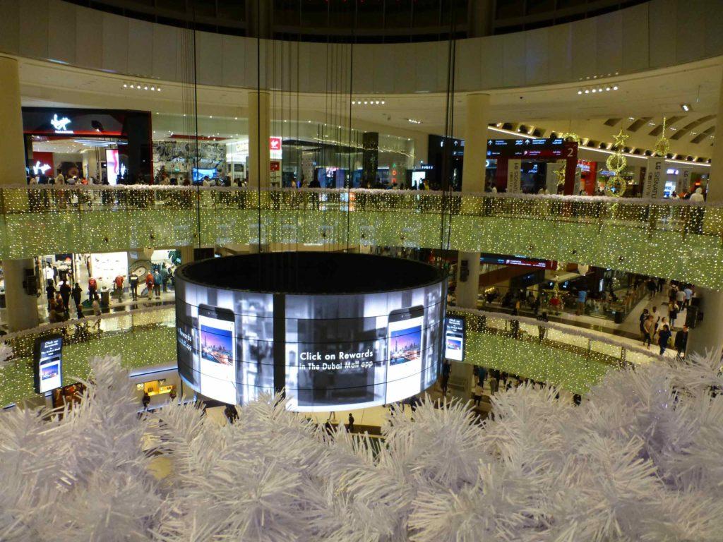 Внутри Дубай-молла
