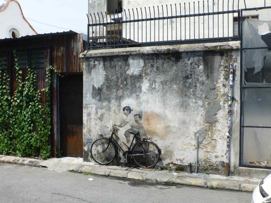 Граффити в районе Армянской улицы