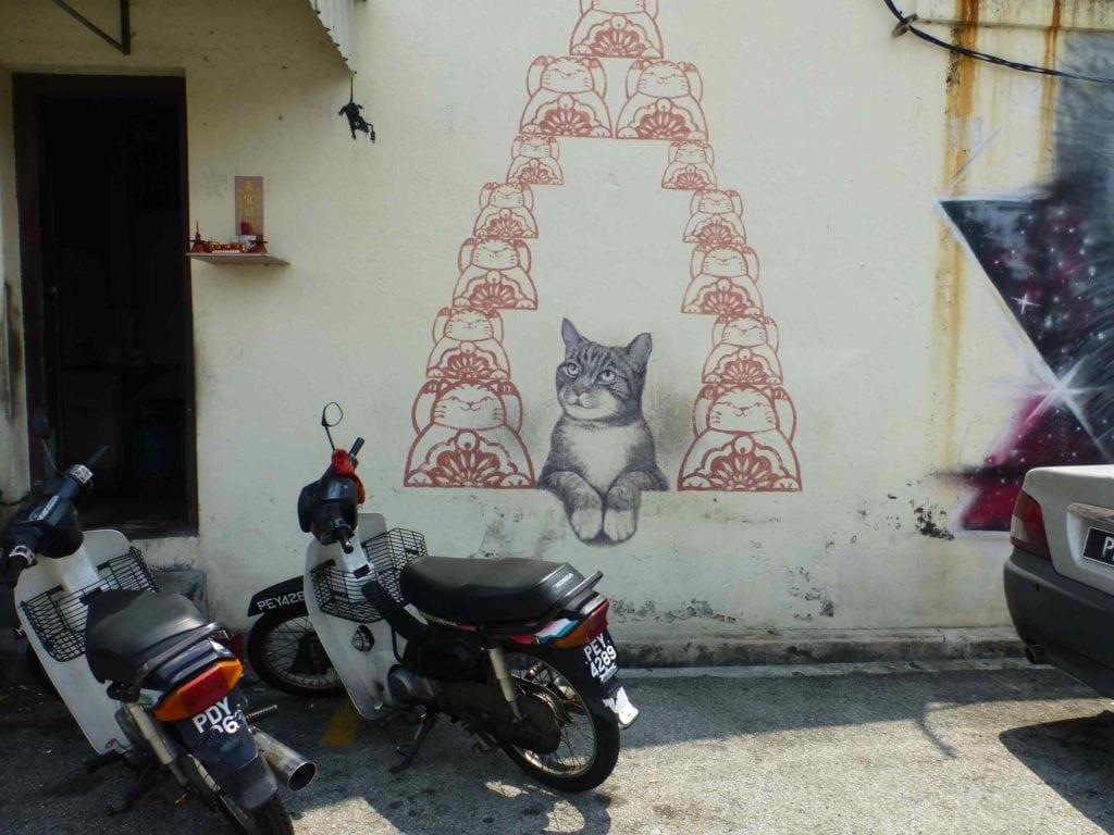 Граффити с котом