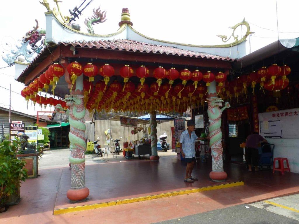 Храм при входе