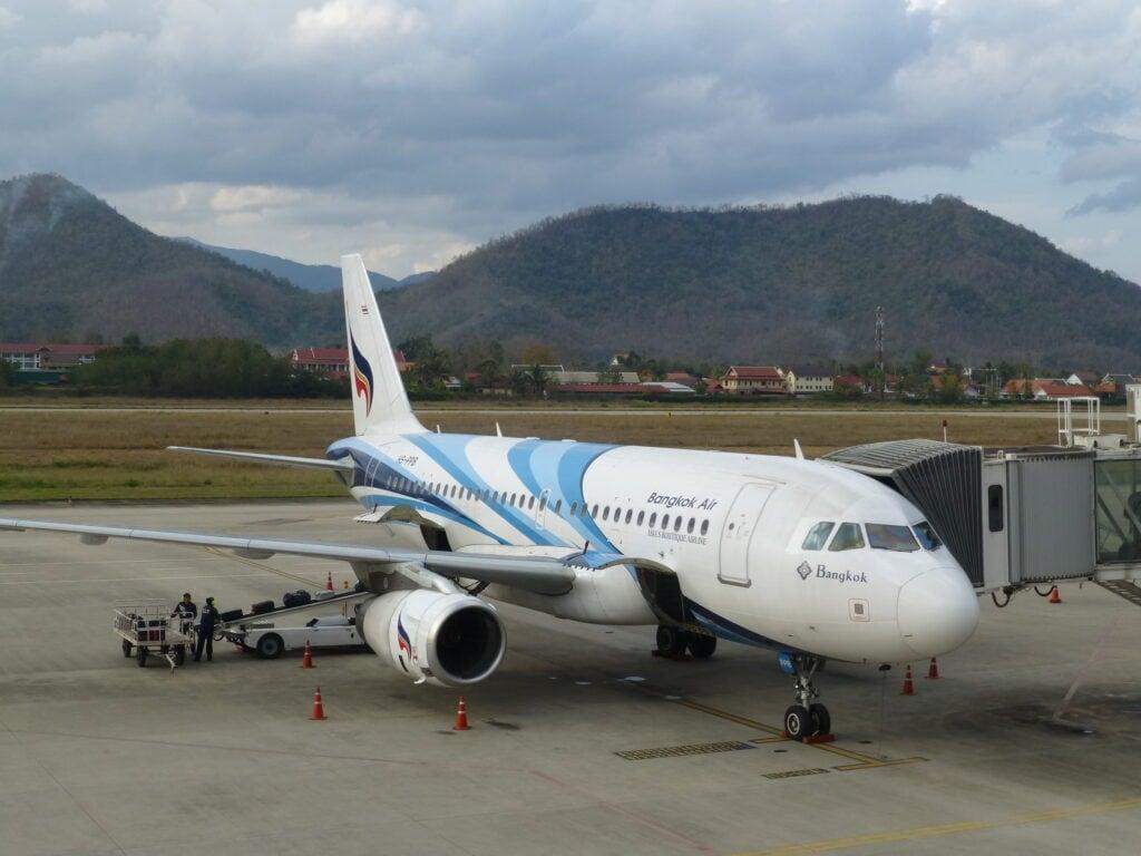 Наш самолет Bangkokairways