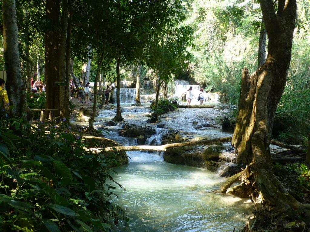 Водопад Куангси 1